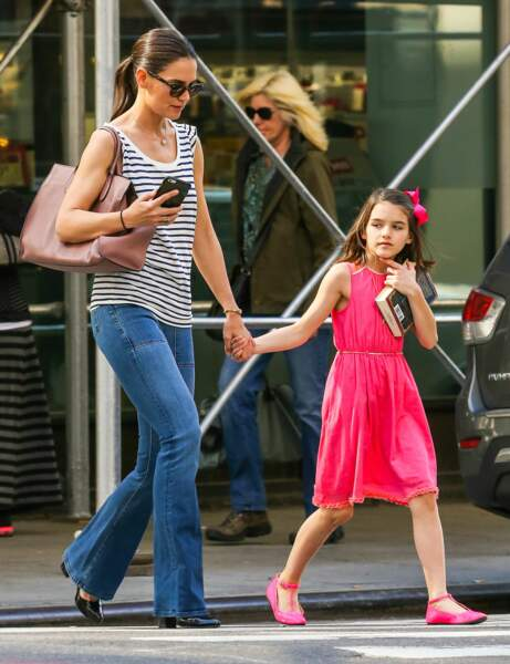 Katie Holmes et Surie Cruise : casual chic
