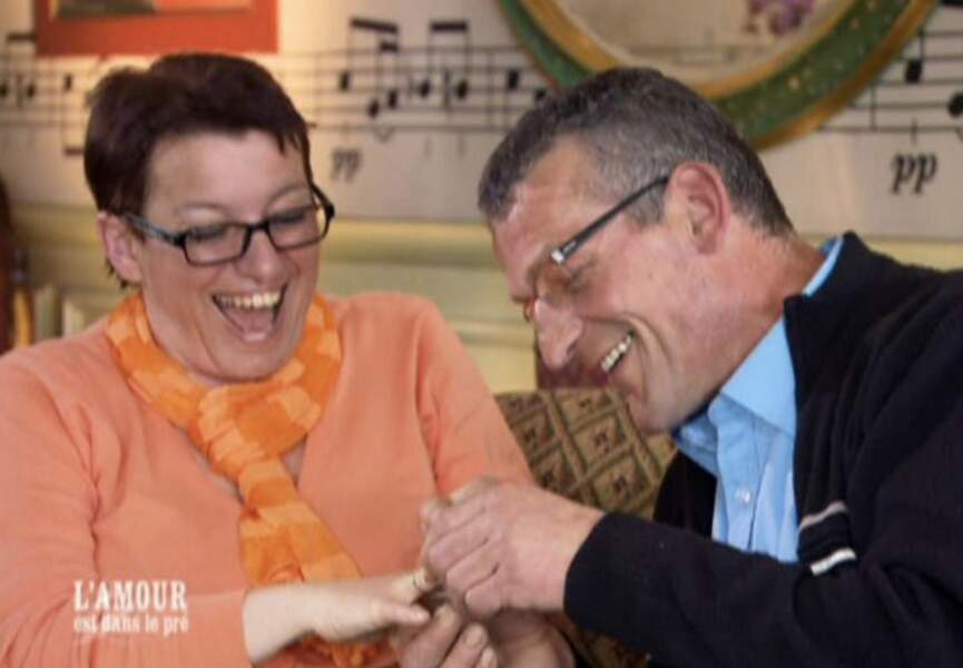 Jean-Claude et Maud de L'amour est dans le pré 6