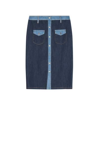 La jupe boutonnée