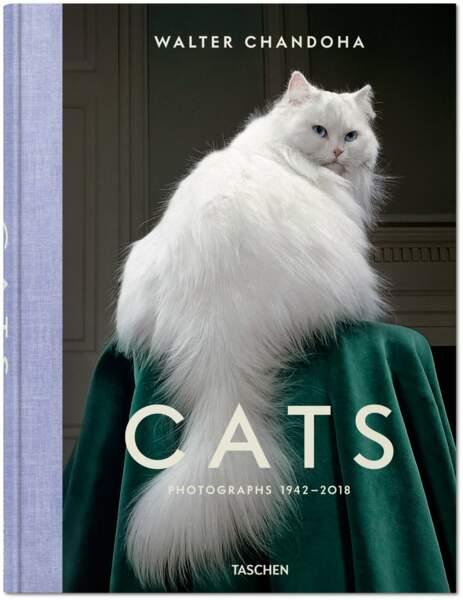 "Le livre de Walter Chandoha, ""Cats"""