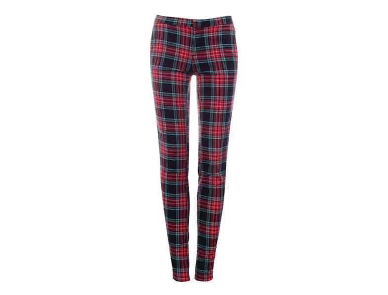 Le pantalon tartan par Pull & Bear