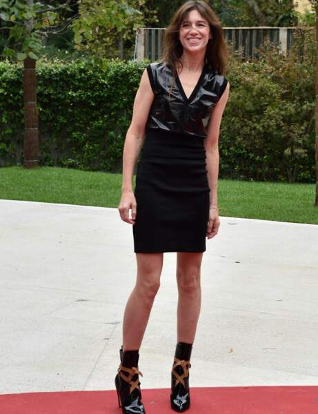 Charlotte Gainsbourg : le look sexy