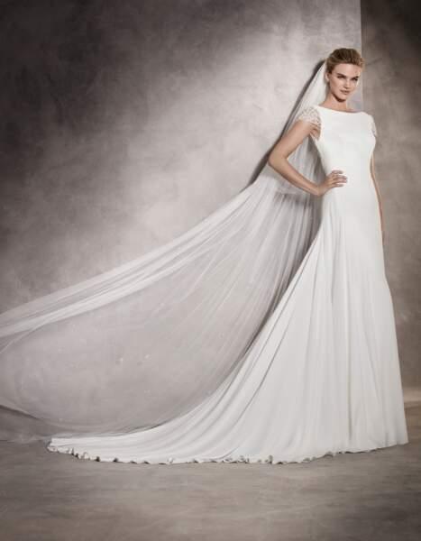 Robe de mariée Pronovias : Ana