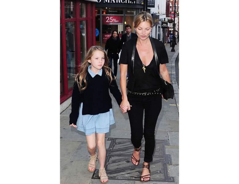 Le duo fait du shopping à Londres