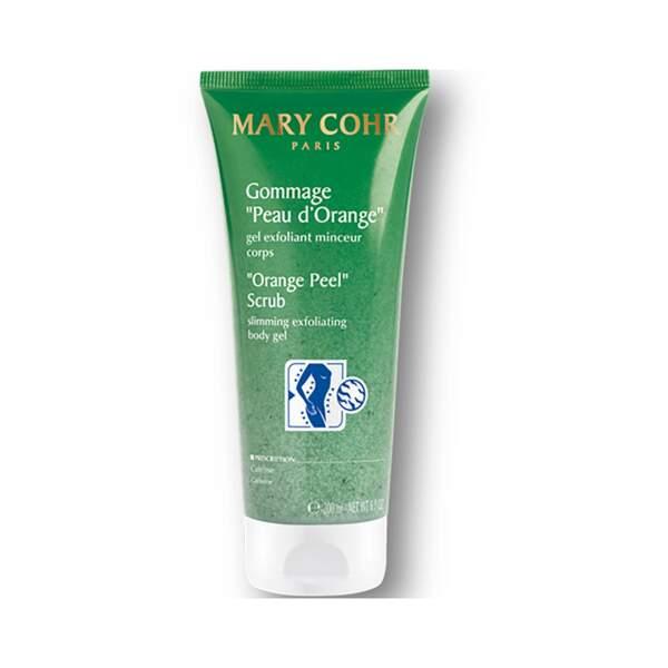 Gommage Peau d'Orange, Mary Cohr, Tube 200 ml, prix indicatif : 34 €
