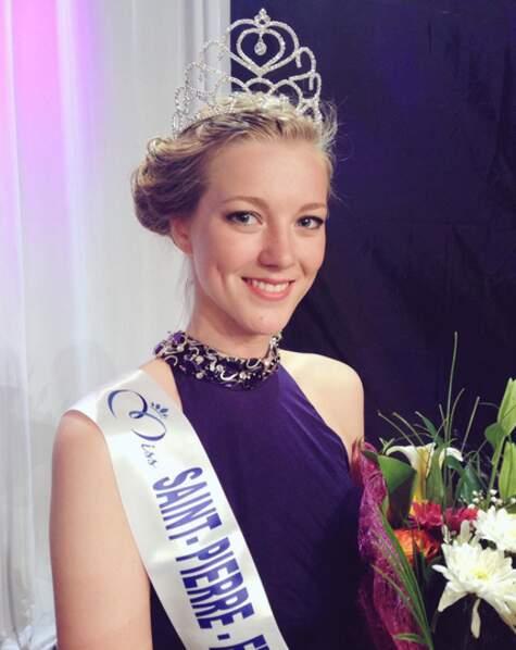 Julie Briand, Miss Saint-Pierre-et-Miquelon