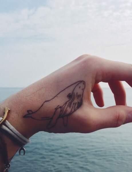 Le tatouage baleine