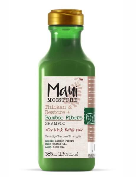 Le shampooing au bambou MAUI Moisture