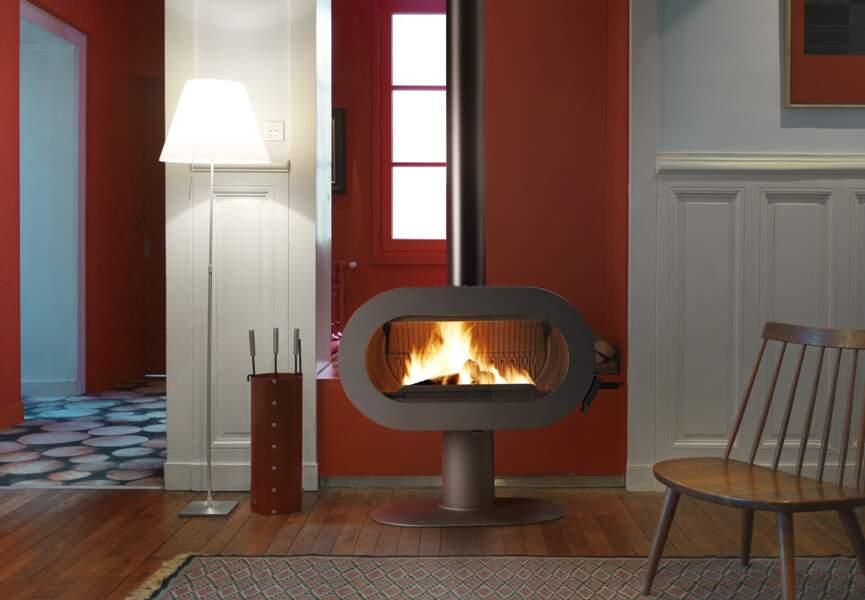Nos poêles et radiateurs pour l'hiver : le poêle esprit vintage