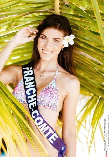 Miss Franche-Comté, Alizée Vannier