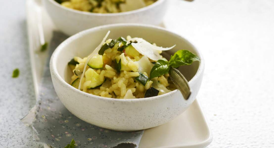 Risotto de courgettes facile