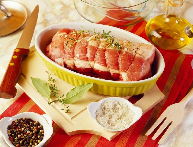 Rôti de porc au soja