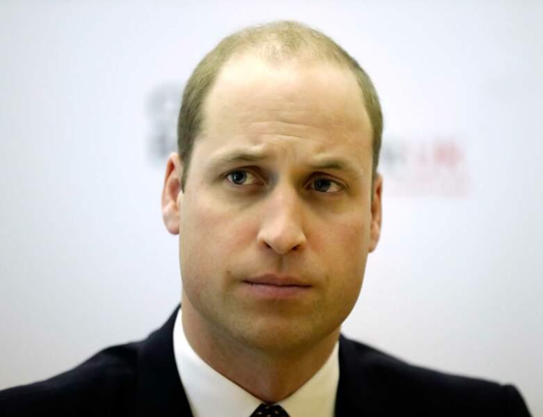 Le Prince William à 35 ans
