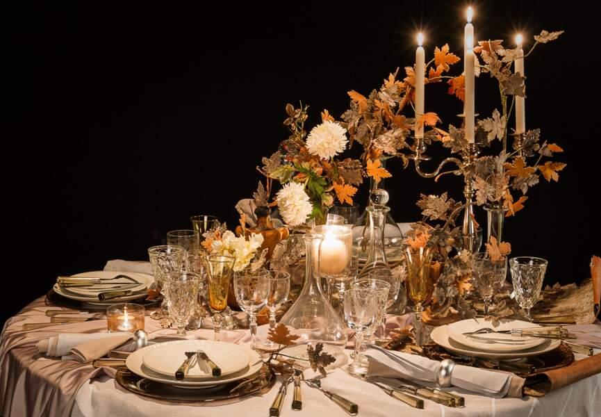 Une table très nature