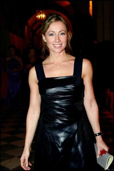 Anne-Sophie Lapix à la Nuit internationale de l'Enfance à Versailles en 2006.