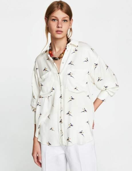 Nouveautés à moins de 30 € : la chemise fluide