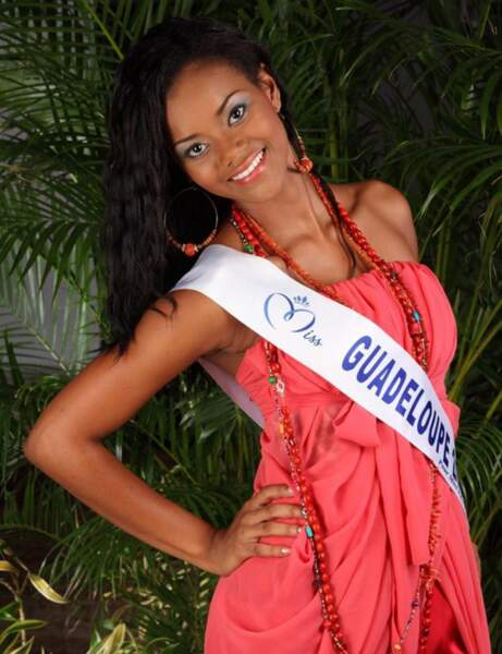 Cynthia Tinédor : Miss Guadeloupe