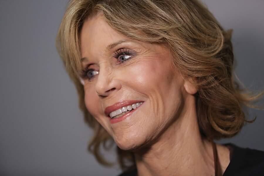 Le blond doré de Jane Fonda
