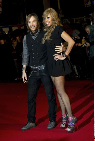 David et Cathy Guetta en 2012