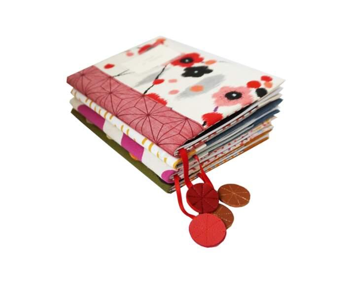 Protèges cahier fait main - Lilou Swann