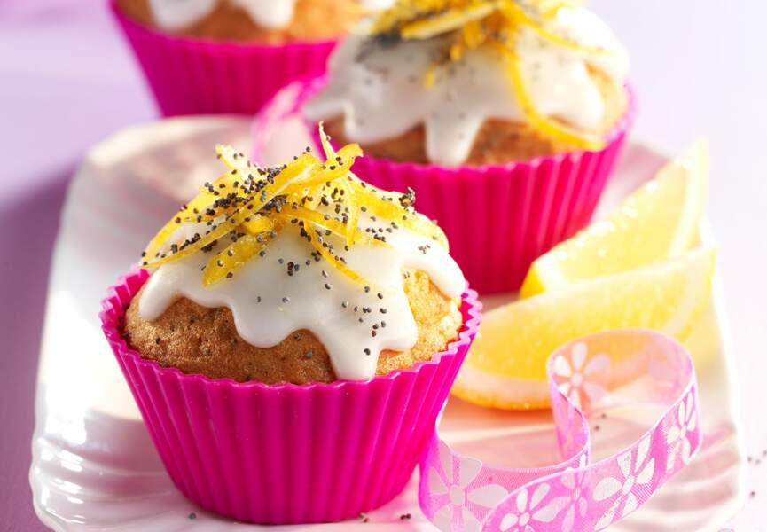 Les cupcakes citron pavot