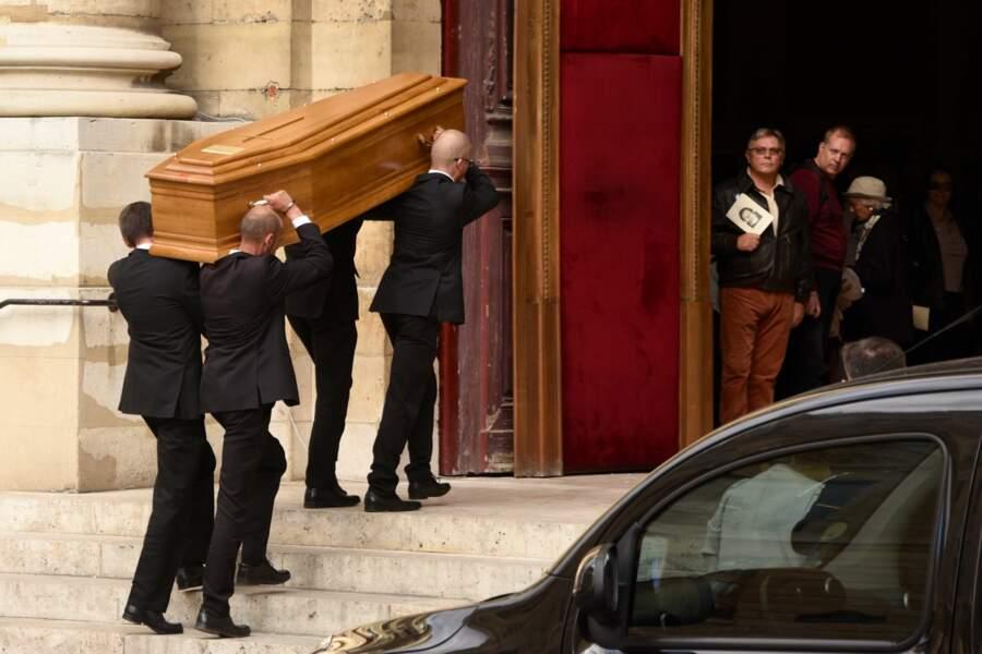 Funérailles de Jean Rochefort à l'Eglise Saint Thomas d'Aquin