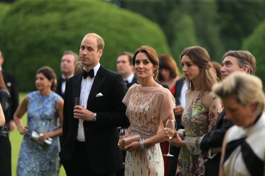 jusqu'au jour où des rumeurs sont apparues sur une éventuelle relation entre le Prince William et Rose Hanbury.