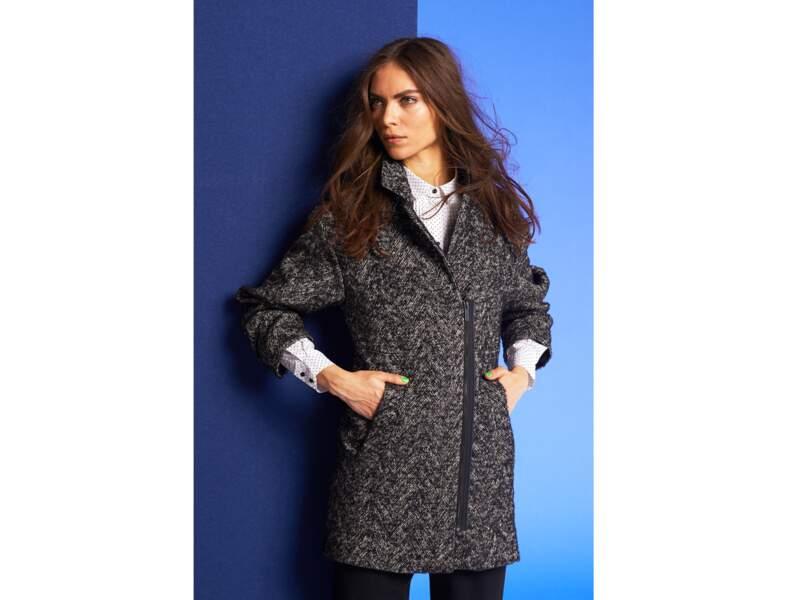 Le manteau oversize