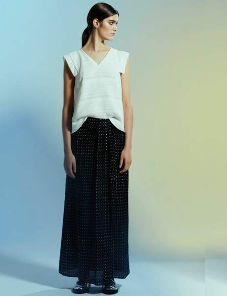 La jupe longueur XL