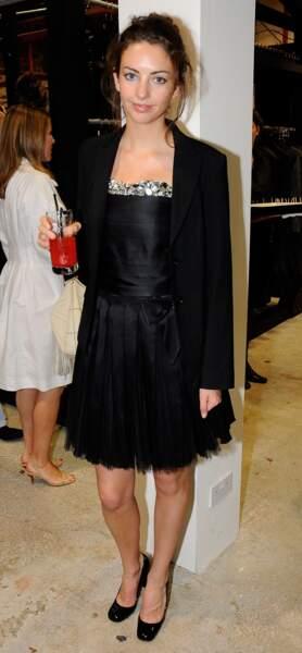 Rose Hanbury à la soirée Chanel Paris-Londres le 10 juin 2008.