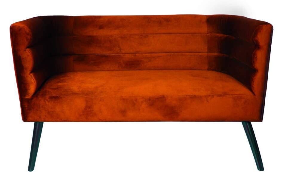 Sofa Velvety Terracota