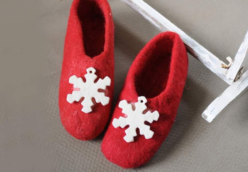 Personnalisez des chaussons