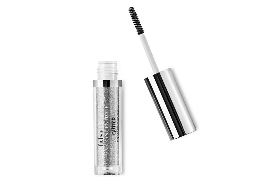 Le glitter top coat mascara Kiko