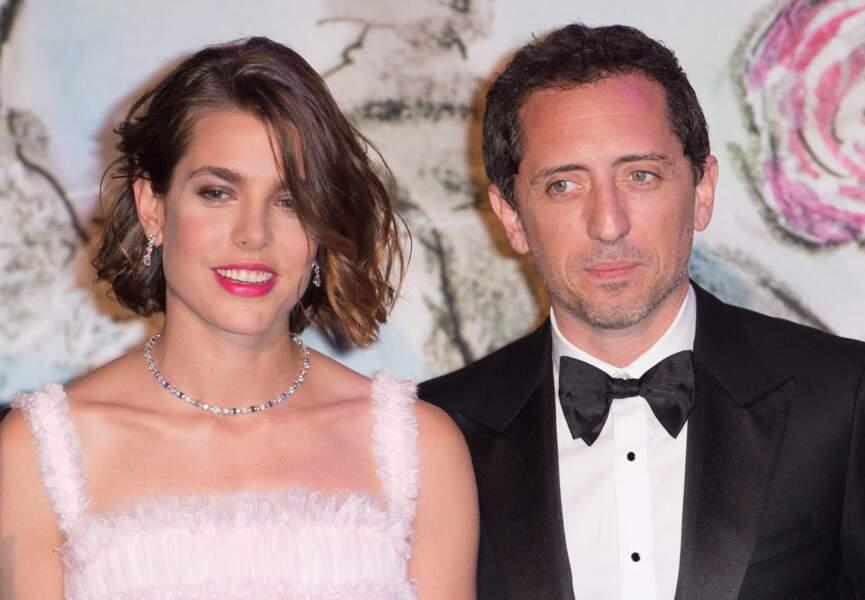 Gad Elmaleh et Charlotte Casiraghi