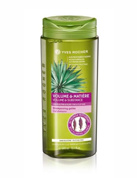 Le shampooing volume et matière Yves Rocher