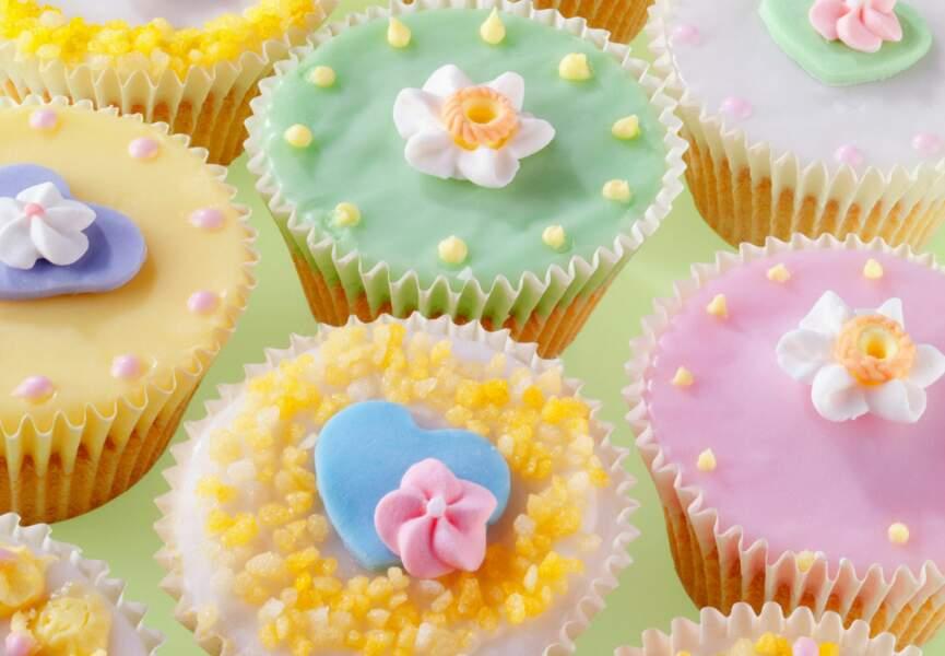 Glaçage d'un cupcake