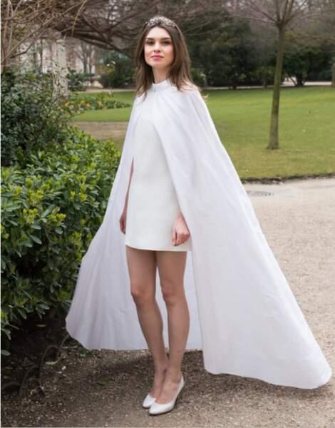 Mariage en hiver : Robe de mariée Odyssée par David Purves