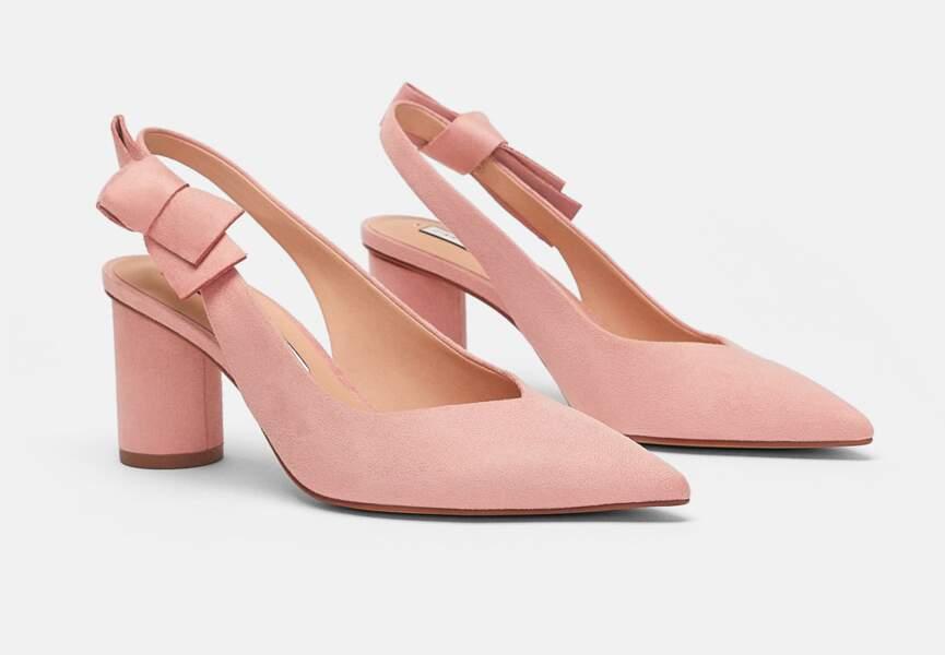 Nouveautés Zara: les chaussures à nœuds
