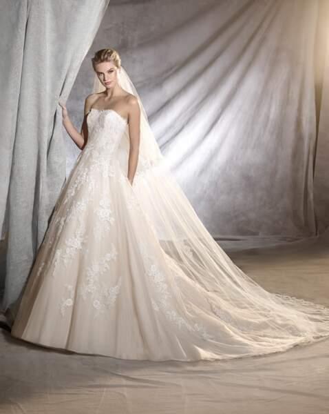 Robe de mariée Pronovias : Oralie