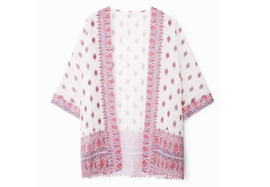 Tendance kimono: façon caftan