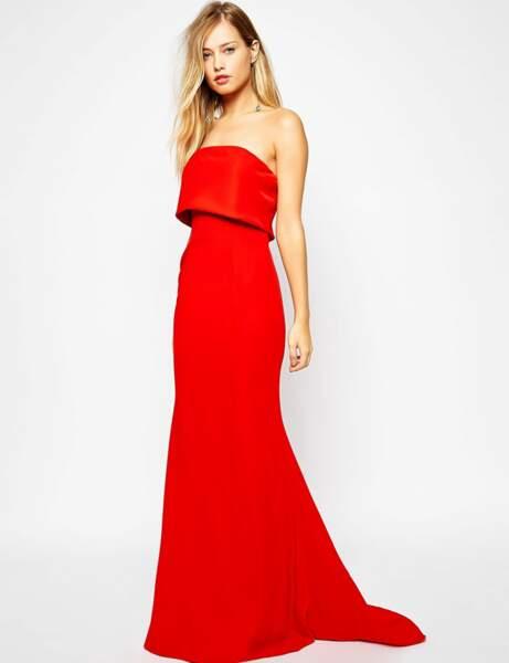La robe longue de Asos