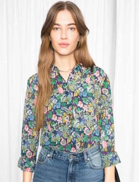 Nouveauté printemps : la chemise fleurie