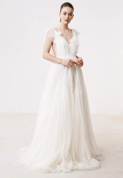 Des robes de mariée style empire pour un