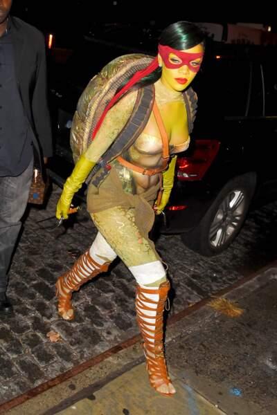 Le déguisement de Rihanna pour Halloween