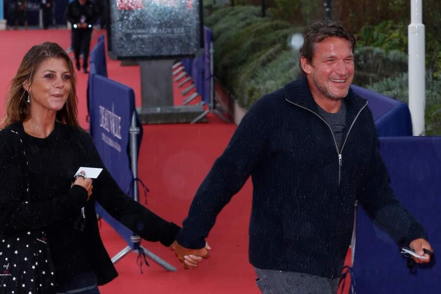 Benjamin Castaldi et son épouse Aurore Aleman : 2015