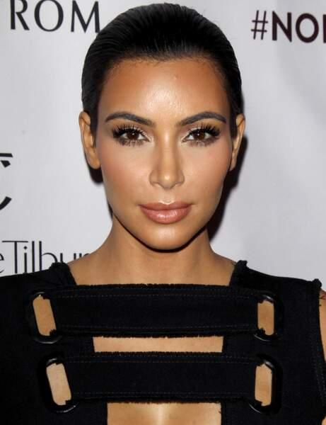 Kim Kardashian après