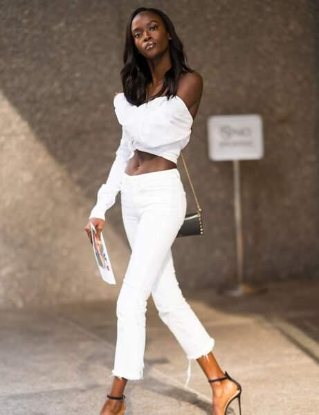 Espagne : le pantalon blanc