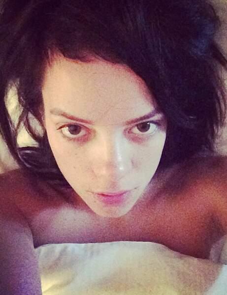 Lily Allen, tout juste réveillée