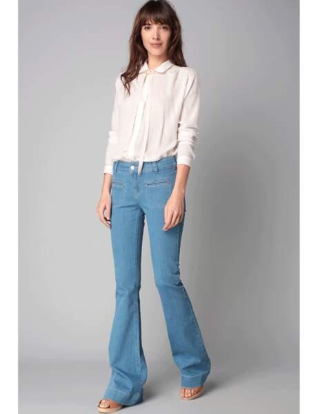 Le jean patte d'eph'