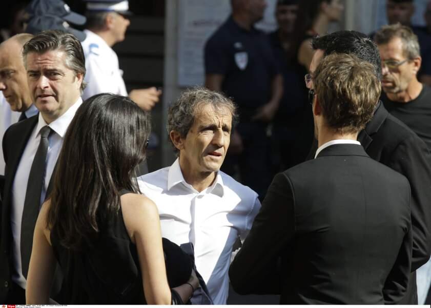 Alain Prost était présent